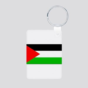 Palestineblank Aluminum Photo Keychain