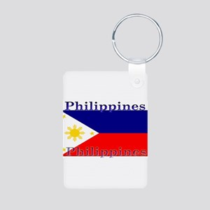Philippines Aluminum Photo Keychain