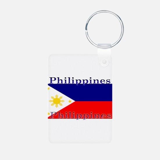 Philippines.jpg Aluminum Photo Keychain