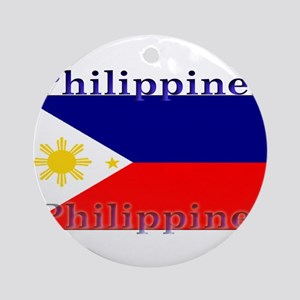 Philippines Ornament (Round)