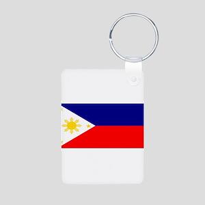 Philippinesblank Aluminum Photo Keychain