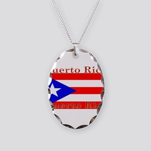 PurtoRico Necklace Oval Charm
