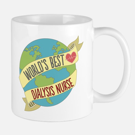 World's Best Dialysis Nurse Mugs