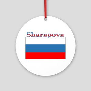 Sharapova Ornament (Round)