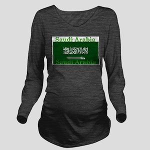 SaudiArabia Long Sleeve Maternity T-Shirt
