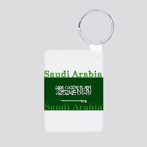 SaudiArabia Aluminum Photo Keychain