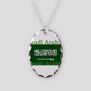 SaudiArabia Necklace Oval Charm