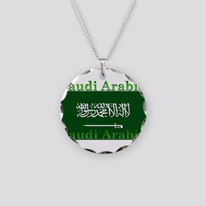 SaudiArabia Necklace Circle Charm
