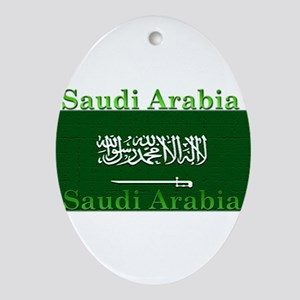 SaudiArabia Ornament (Oval)