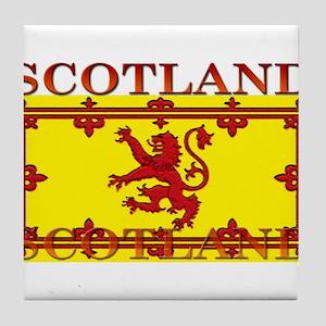 Scotland Tile Coaster