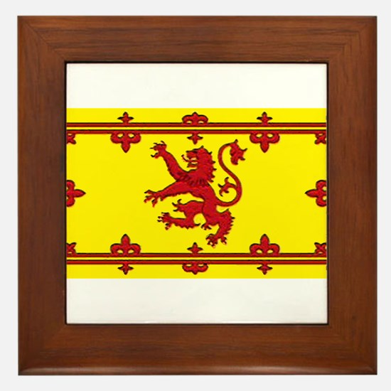 Scotlandblank.jpg Framed Tile