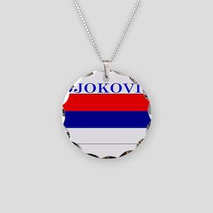 Djokovic Necklace Circle Charm