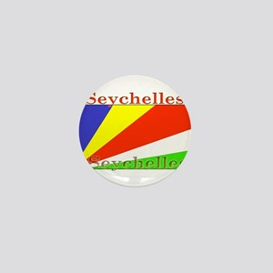 Seychelles Mini Button