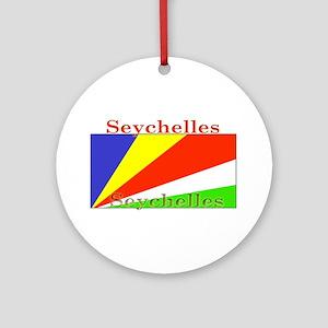 Seychelles Ornament (Round)