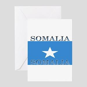 Somalia Greeting Card