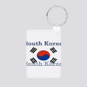 SouthKorea Aluminum Photo Keychain