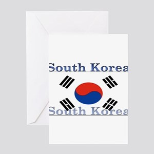 SouthKorea Greeting Card