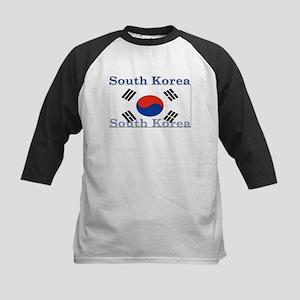 SouthKorea Kids Baseball Jersey