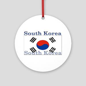 SouthKorea Ornament (Round)