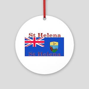 StHelena Ornament (Round)