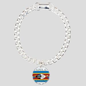 Swaziland Charm Bracelet, One Charm