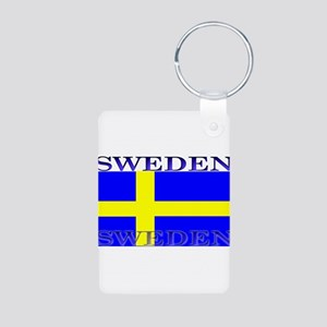 Swedenblack Aluminum Photo Keychain