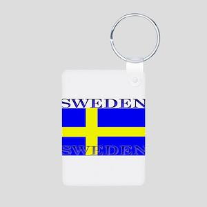 Swedenblack Aluminum Photo Keychain