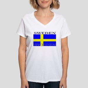Swedenblack Women's V-Neck T-Shirt