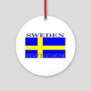 Swedenblack Ornament (Round)