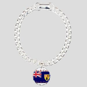 TurksCaicos Charm Bracelet, One Charm
