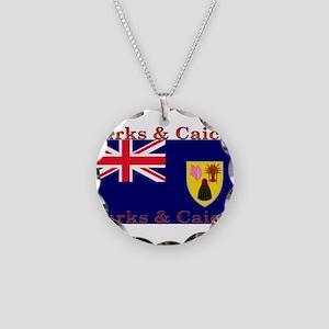 TurksCaicos Necklace Circle Charm