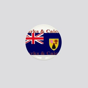 TurksCaicos Mini Button