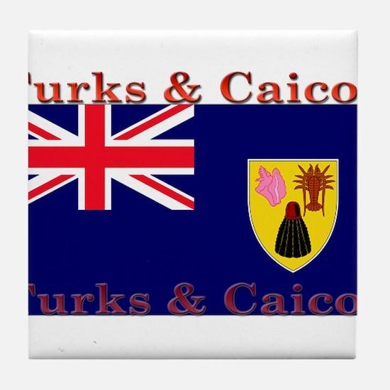 TurksCaicos.jpg Tile Coaster