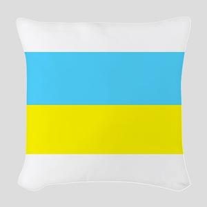 Ukraineblank Woven Throw Pillow