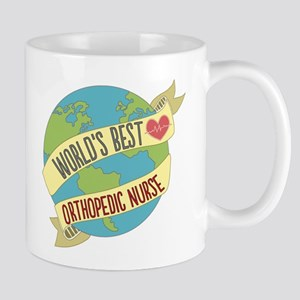 World's Best Orthopedic Nurse Mugs