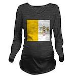 Vaticanblank Long Sleeve Maternity T-Shirt