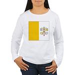 Vaticanblank Women's Long Sleeve T-Shirt