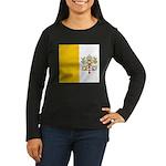 Vaticanblank Women's Long Sleeve Dark T-Shirt