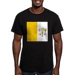 Vaticanblank Men's Fitted T-Shirt (dark)