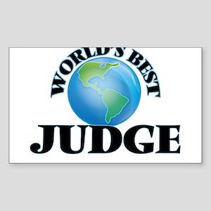 World's Best Judge Sticker