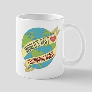 World's Best Psychiatric Nurse Mugs