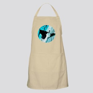 Snowmobiling on Icy Trails Apron