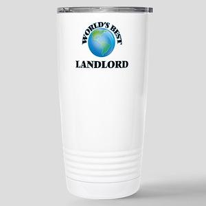 World's Best Landlord Stainless Steel Travel Mug