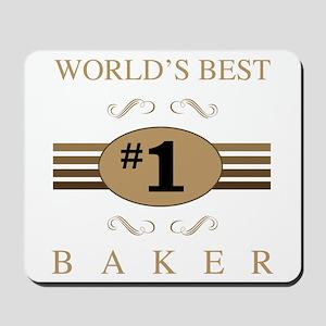 World's Best Baker Mousepad