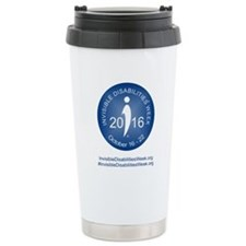 2016 Invisible Disabili Stainless Steel Travel Mug
