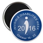 2016 Invisible Disabilities Week Magnet