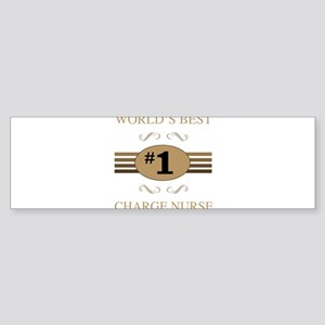 World's Best Charge Nurse Bumper Sticker