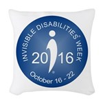 2016 Invisible Disabilities We Woven Throw Pillow