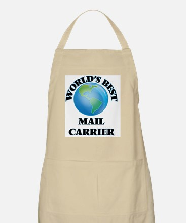 World's Best Mail Carrier Apron