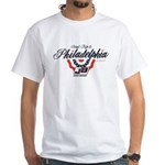 Jacket Backers Philly 14-15 Road Tri White T-Shirt